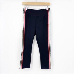 Fila Rainbow Striped Cropped Workout Leggings SZ M